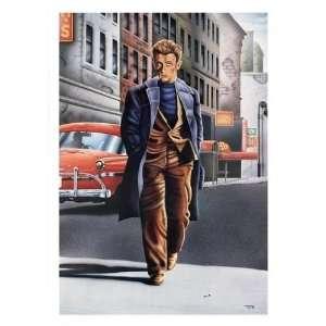 James Dean Ledo Club Portrait Poster 27x39 Everything
