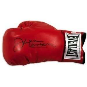 Ken Norton Autographed/hand Signed Leather Boxing Glove