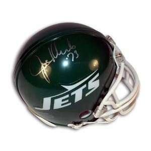 Joe Klecko Signed Jets Mini Helmet Sports Collectibles