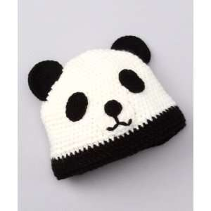 Panda Bear Beanie Knit Cap Hat for Kids