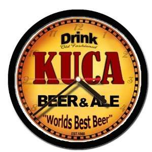 KUCA beer and ale cerveza wall clock: Everything Else