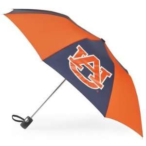 totes Auburn Tigers Small Auto Folding Umbrella  NCAA