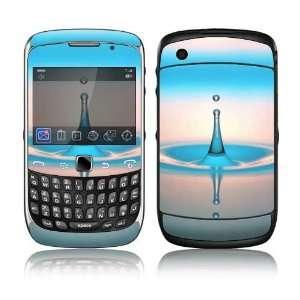 BlackBerry Curve 3G Decal Skin Sticker   Water Drop