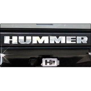 Hummer H2 Logo Chrome Trailer Hitch Cover Automotive