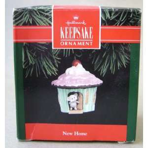 Hallmark Keepsake New Home Mouse in Cupcake Christmas Tree