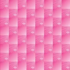 Harley Davidson Motorcycle Pink Bar & Shield Gloss 12 x 12 Scrapbook