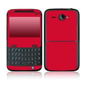 Simply Red Design Decorative Skin Cover Decal Sticker for HTC Status