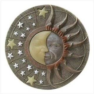 Sun Moon & Stars Metal Wire Wall Hanging Garden Art 20