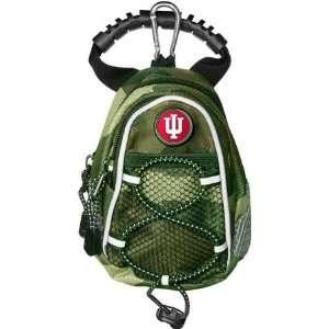 Indiana Hoosiers IU NCAA Camo Mini Day Back Pack Sports