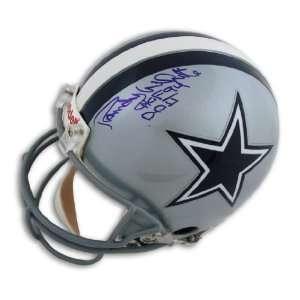 Randy White Dallas Cowboys Proline Helmet Inscribed HOF 94 and DD