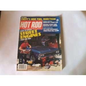 Ho Rod Magazine Ocober 1981 How o Build Sree Engines