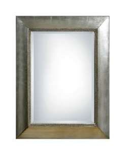 silver beaded edge wall mirror oh so pretty this silver frame wall