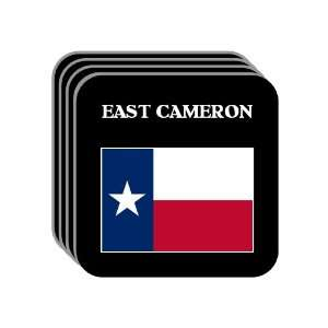 US State Flag   EAST CAMERON, Texas (TX) Set of 4 Mini
