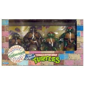 Original Teenage Mutant Ninja Turtles Collectors 4 pack: Toys & Games