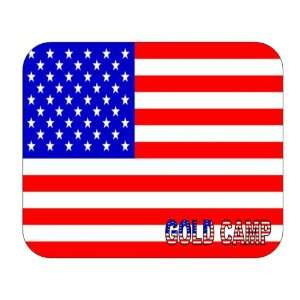 US Flag   Gold Camp, Arizona (AZ) Mouse Pad Everything