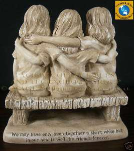 NOW AND FOREVER BEST FRIENDS FOREVER STATUE FIGURINE
