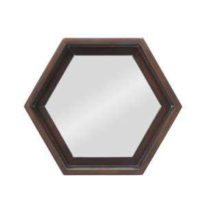 Cordova Hexagon Decorative Wall Mirror