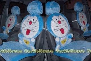 NEW Doraemon Car Front Seat Covers 6pcs