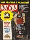 July 1971 HOT ROD Magazine Demon Project Car Pete Hamilton 1/2 Scale