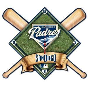MLB San Diego Padres High Definition Clock