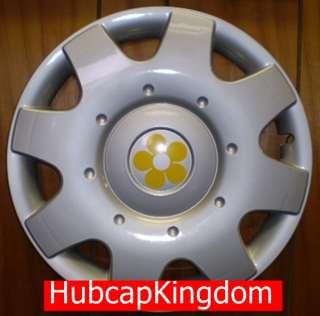 1998 2009 VW BEETLE 16 YELLOW DAISY FLOWER Hubcap SET