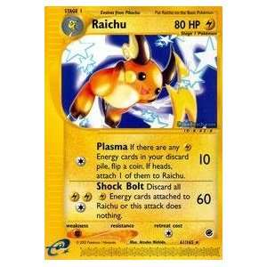 Pokemon   Raichu (61)   Expedition: Toys & Games