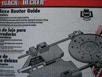 Black & Decker Deluxe Router Guide #76 234