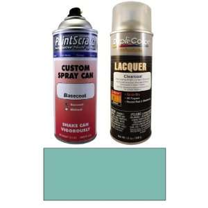 12.5 Oz. Aqua Marine Blue Metallic Spray Can Paint Kit for