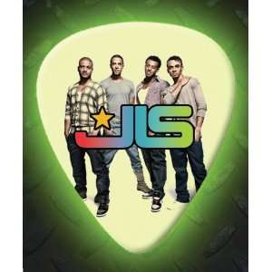 JLS 5 X Glow In The Dark Premium Guitar Picks Musical