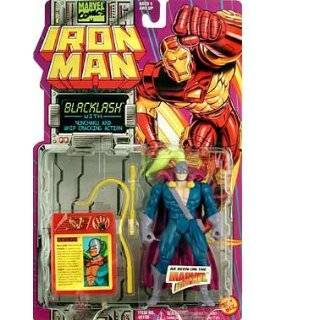 Hurling Action   Marvel Comics Iron Man Action Figure Toys & Games