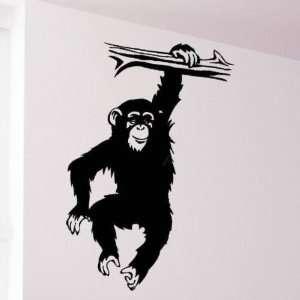 Monkey Hanging Wall Decor Vinyl Art