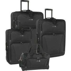 Travel Gear Galaxy 4 Piece Luggage Set 1102P0 Color Blue