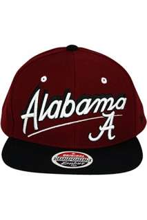 University Of Alabama Crimson Tide Snapback Hat Burgundy.Si