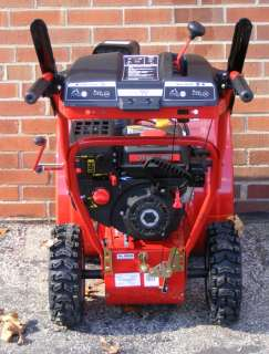 TROY BILT STORM 2410 179cc 24 TWO STAGE GAS SNOW BLOWER w/ELECTRIC