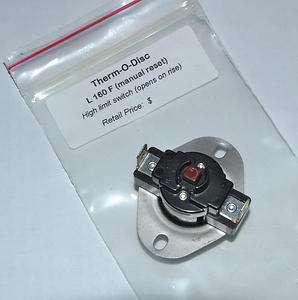 Rheem Ruud 47 25118 01 Hi Limit Switch L160 Manual Reset Gas Furnace