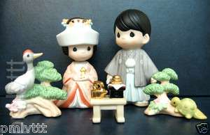 Precious Moments Extremely Rare Japanese Exclusive 5 PC Set |