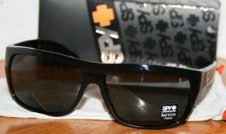 MENS~SUNGLASSES~SPY OPTIC~LENNOX~BLACK~POLARIZED~NEW~