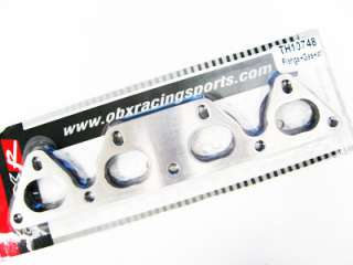 OBX SS304 TURBO HEADER FLANGE HONDA CIVIC D15 D16 SOHC