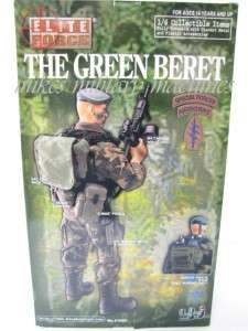 BBI ELITE FORCE ULTIMATE SPECIAL FORCES SF GREEN BERET SOLDIER