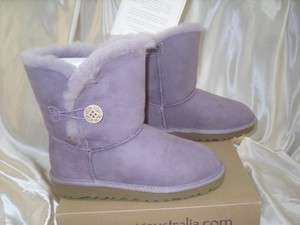 Australia Girls BAILEY BUTTON Boot Lilac/ Purple sizes 1 & 2
