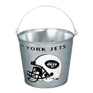 New York Jets Metal 5 Quart Pail