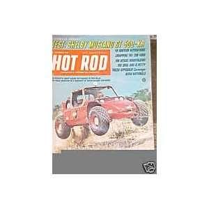 Hot Rod Magazine November 1968 Hot Rod Magazine Books