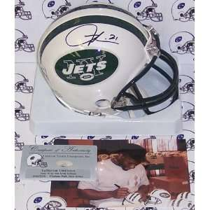 LaDainian Tomlinson Hand Signed New York Jets Mini Helmet