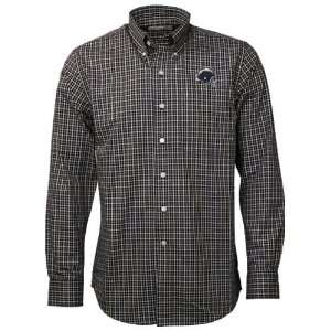 Buck San Diego Chargers Navy Blue Alumni Check Woven Long Sleeve Shirt