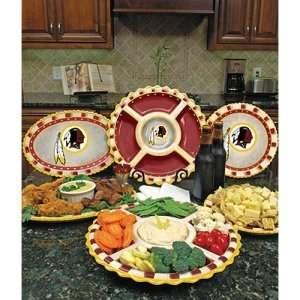 Washington Redskins NFL Homegating Ceramic Platter  Sports