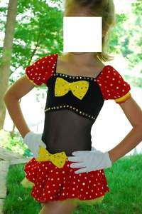 Pageant Dance Mickey Disney Casual Wear OOC Costume 5 6 7 Girls