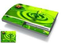 Skins Cover Sticker for Game System PS3 Orange Flame