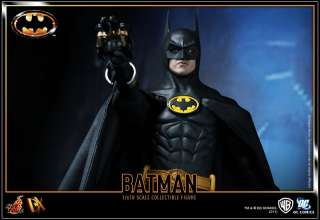 Hot Toys 1/6 DX09 Batman   1989 Batman Michael Keaton IN STOCK
