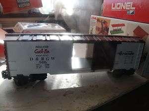 Lionel 9406 Denver & Rio Grande West Box Car