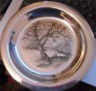 1972 Franklin Mint Wyeth Sterling Silver Plate $299